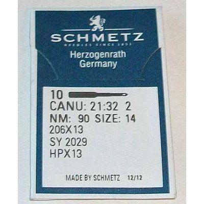 Schmetz 10pk 206x13 Needles (90/14)