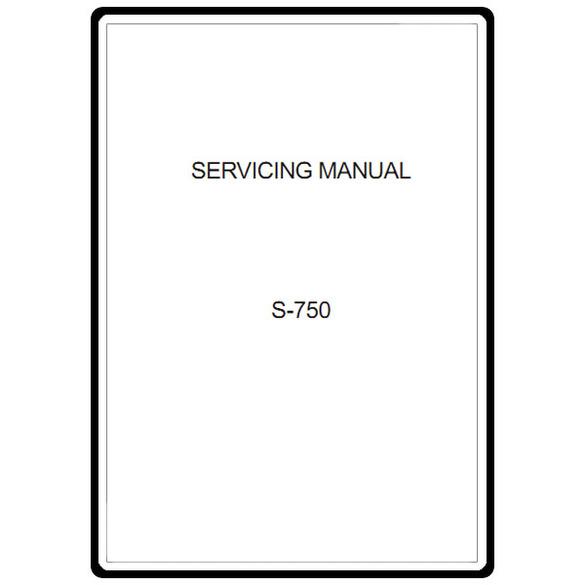 Service Manual, Janome S-750