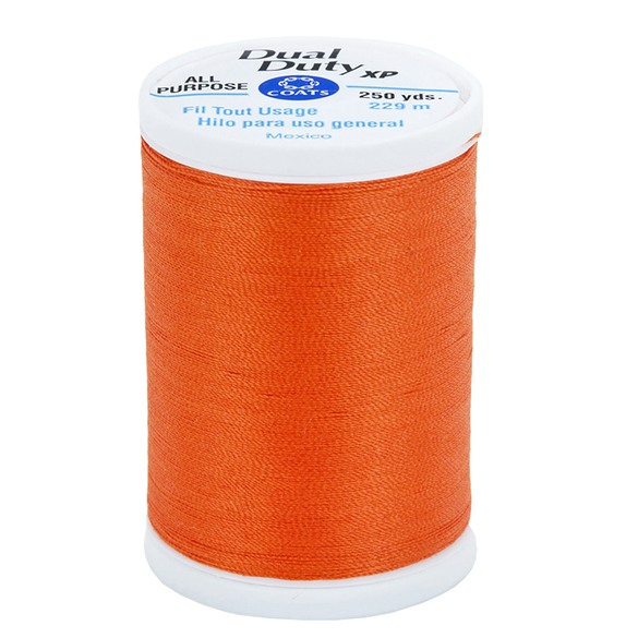 Dual Duty XP Thread, Coats & Clark (250yds) Orange