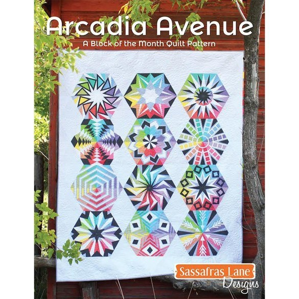 Sassafras Lane Designs, Arcadia Avenue Quilt Pattern