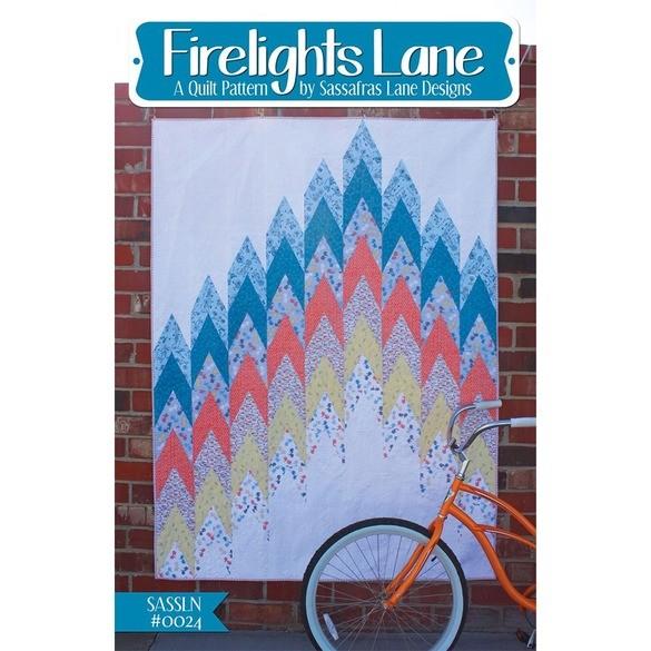 Sassafras Lane Designs, Firelights Lane Quilt Pattern