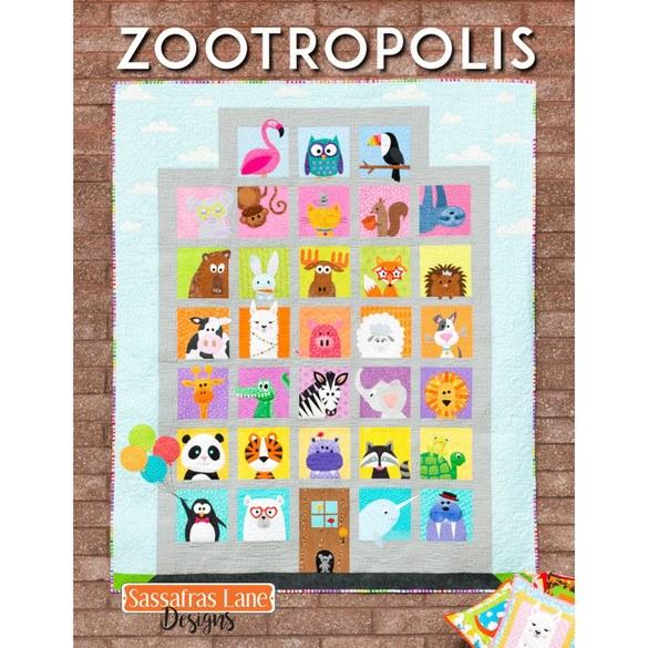 Sassafras Lane Designs, Zootropolis Pattern Book