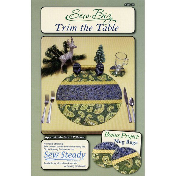 Trim the Table Pattern, Sew Biz