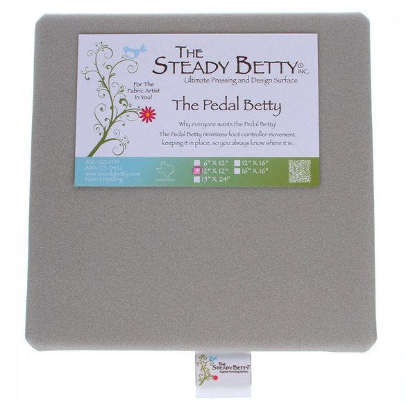 Medium Pedal Betty 12in x 12in, The Steady Betty