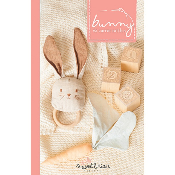 Bunny and Carrot Rattle Pattern