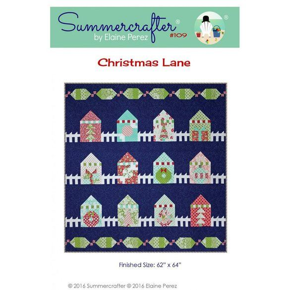 Christmas Lane Pattern, Summercrafter
