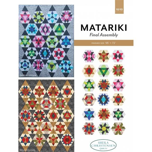 Matariki Block of the Month Pattern