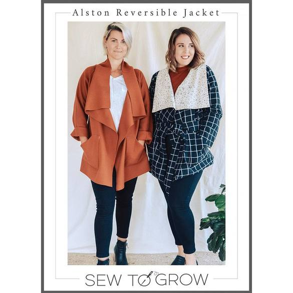 Alston Reversible Jacket Pattern