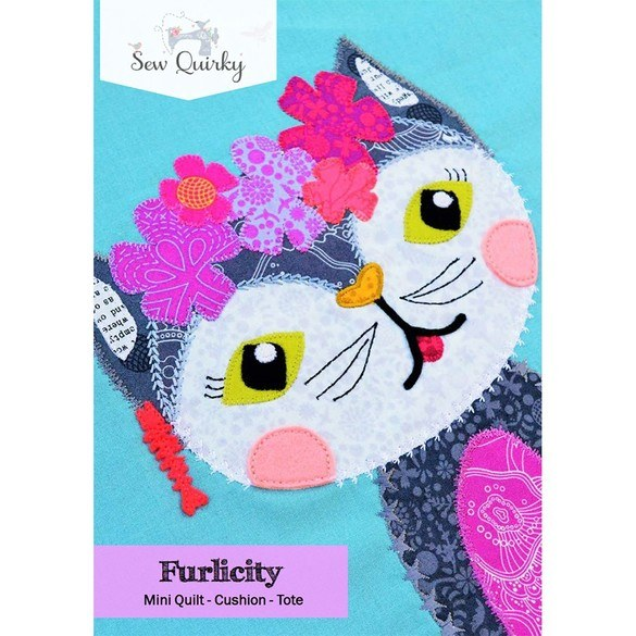 Sew Quirky, Furlicity Block Pattern