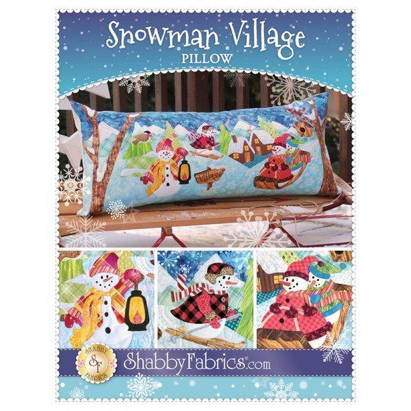 Snowman Village Pattern Series