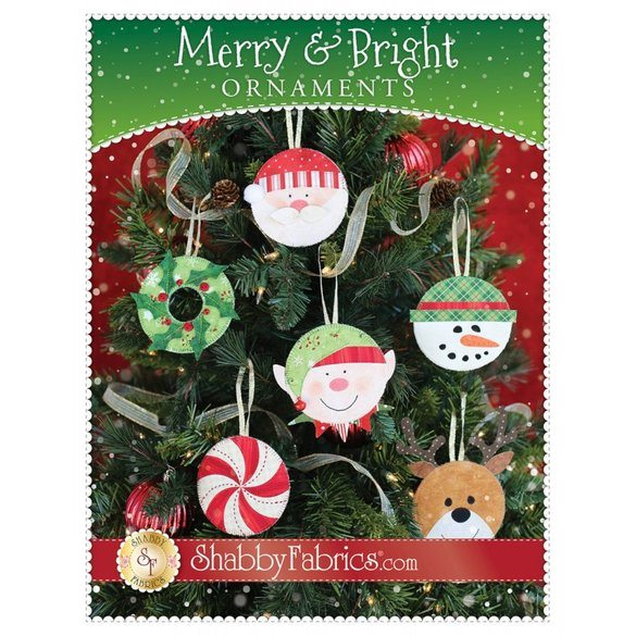 Merry and Bright Ornaments Patterns