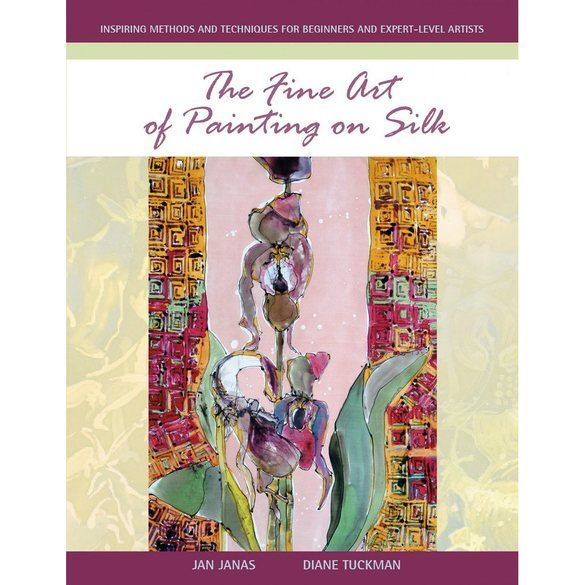 The Fine Art of Painting on Silk Book