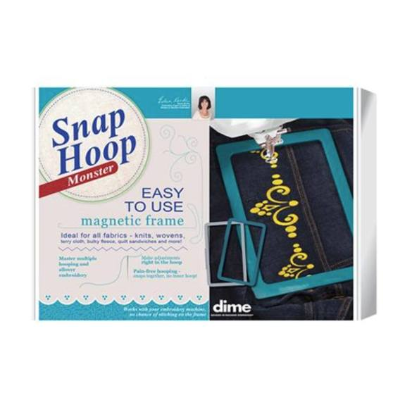 """Dime, 5"""" x 7"""" Babylock and Brother Snap Hoop Monster"""