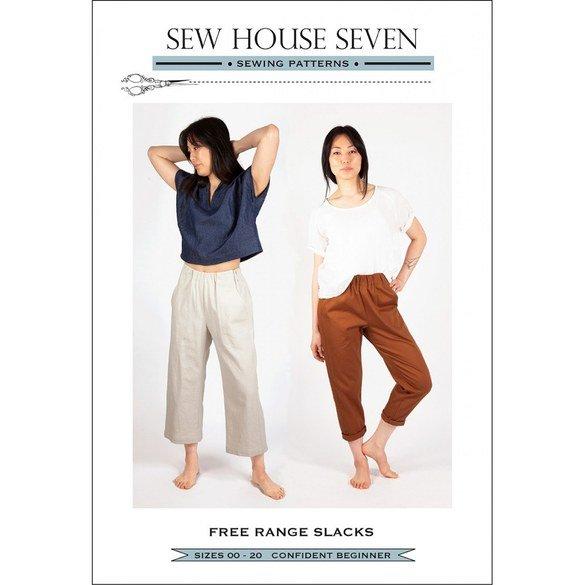 Free Range Slacks Pattern, Sew House Seven