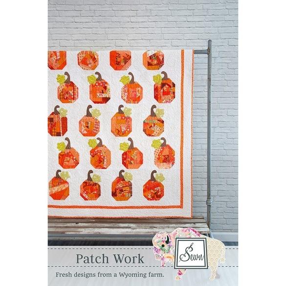 Patch Work Pumpkin Quilt Pattern