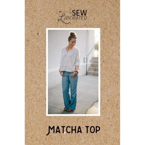 Matcha Top Pattern, Sew Liberated