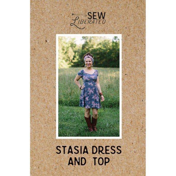 Stasia Dress Pattern, Sew Liberated