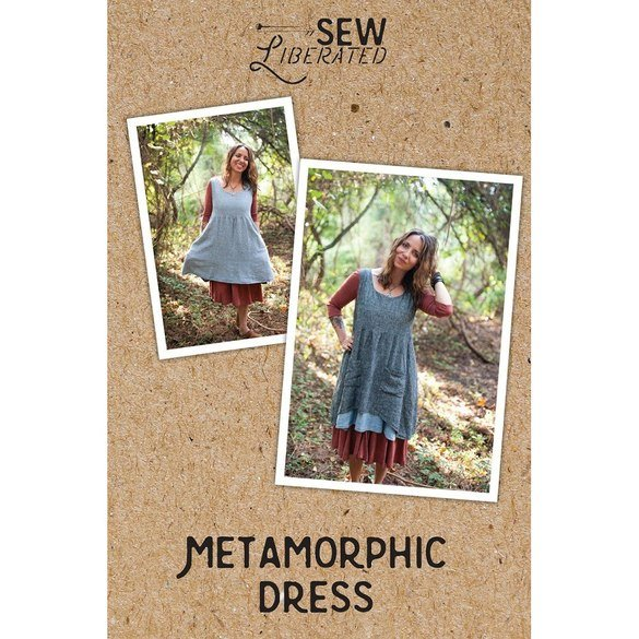 Metamorphic Reversible Dress Pattern, Sew Liberated