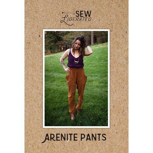 Arenite Pants Pattern, Sew Liberated