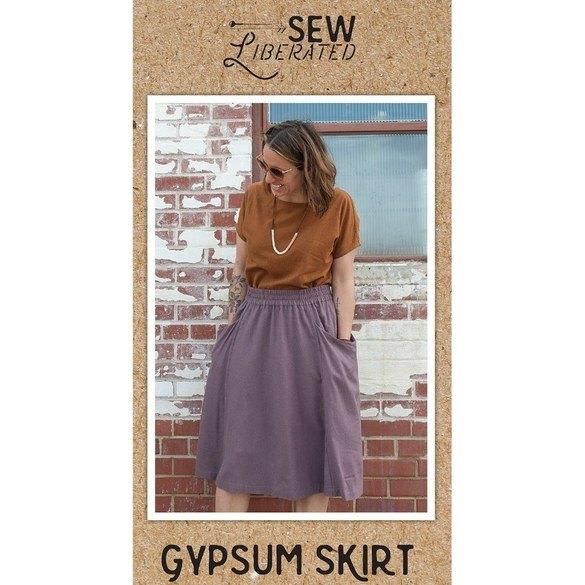 Gypsum Skirt Pattern, Sew Liberated