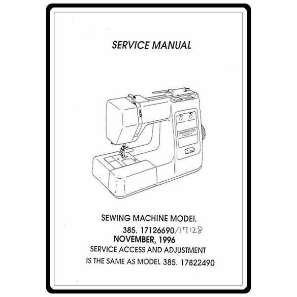 Service Manual, Kenmore 385.17822490