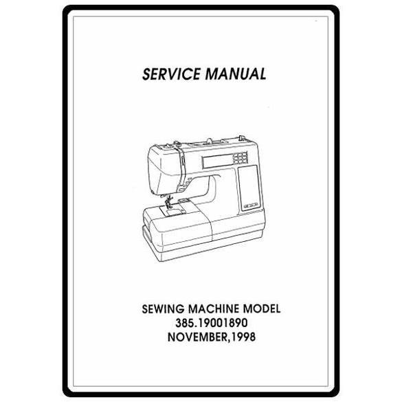 Service Manual, Kenmore 385.19001890