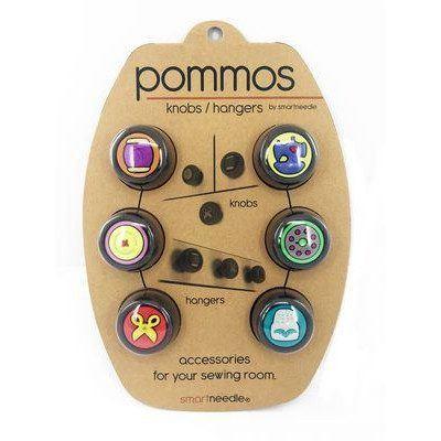Pommos Knobs/Hangers (6pcs), Smartneedle