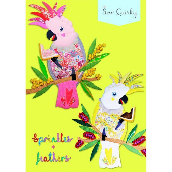 Sew Quirky, Sprinkles And Feathers Pattern