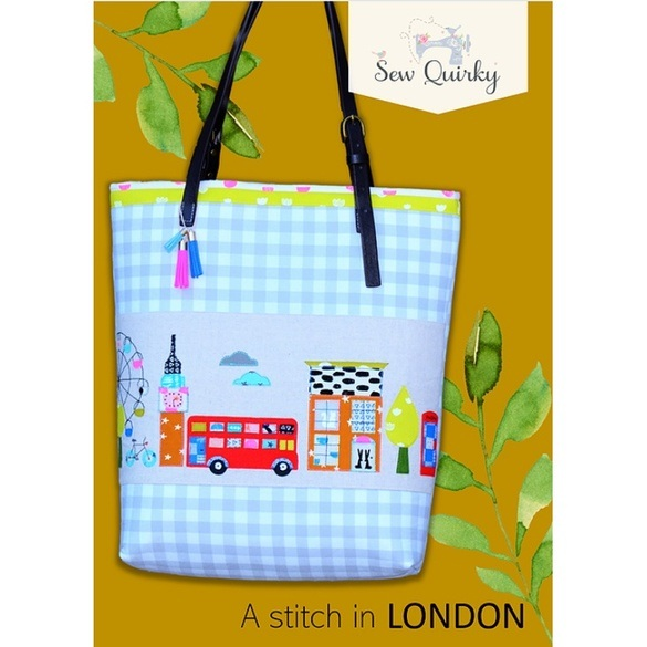 Sew Quirky, A Stitch in London Pag Pattern