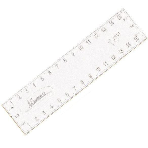 Martelli No-Slip Straight Ruler
