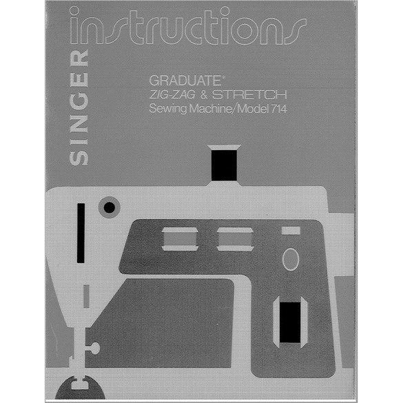 Instruction Manual, Singer 714