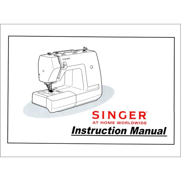 Instruction Manual, Singer 7350