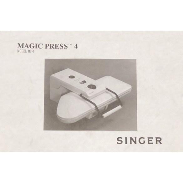 Instruction Manual, Singer MP4