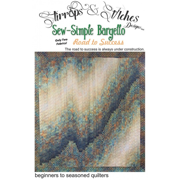Sew Simple Bargello Road to Success Quilt Pattern