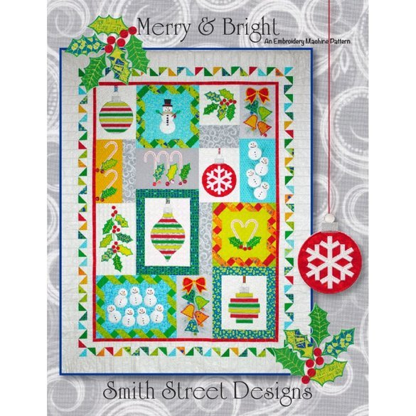 Merry & Bright Pattern CD