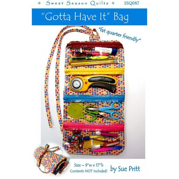 """Gotta Have It"" Bag Pattern"