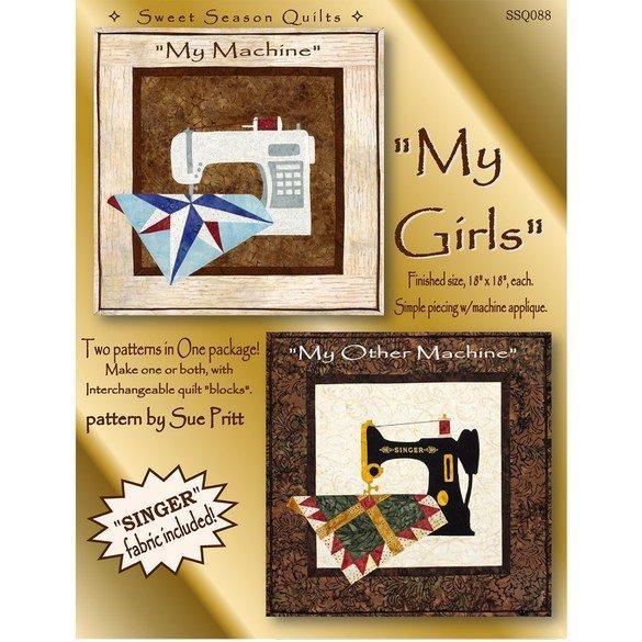My Girls Mini Quilt Pattern - 2pk