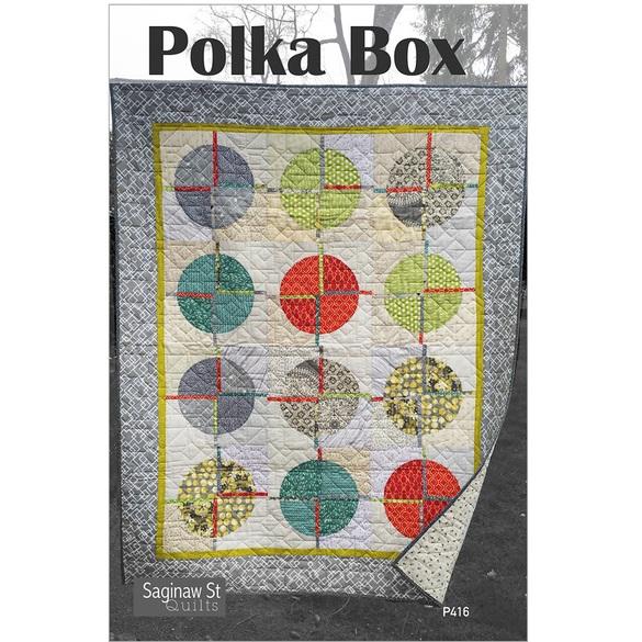 Polka Box Quilt Pattern