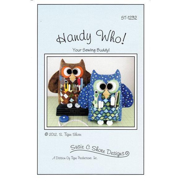 Handy Who! Pattern, Susie C Shore Designs