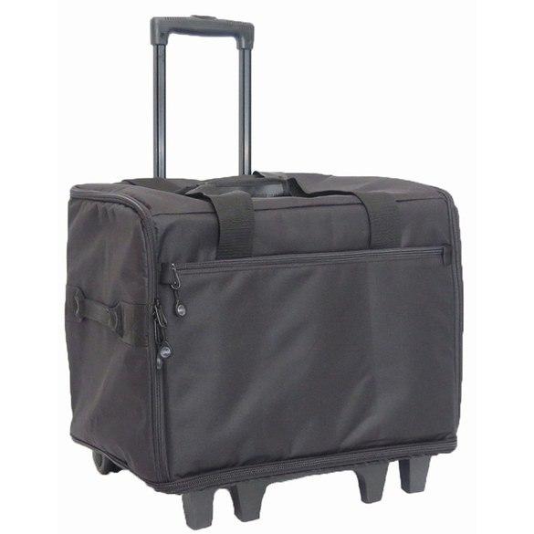 Large Wheeled Serger Bag, BlueFig