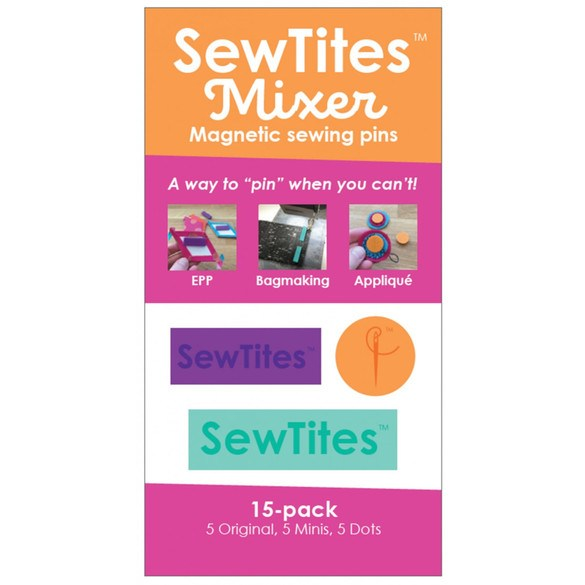 SewTites Magnetic Pin Mixer - 15pk