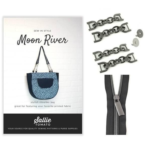 Sallie Tomato, Bag Pattern and Hardware Kit