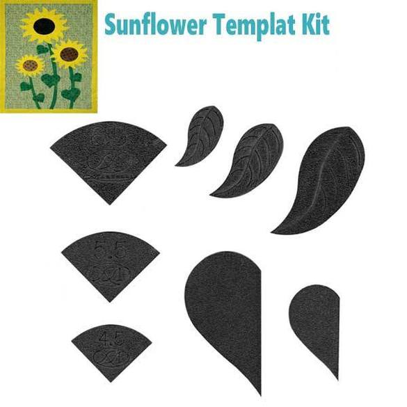 Sunflower Template Set (8pc), Martelli