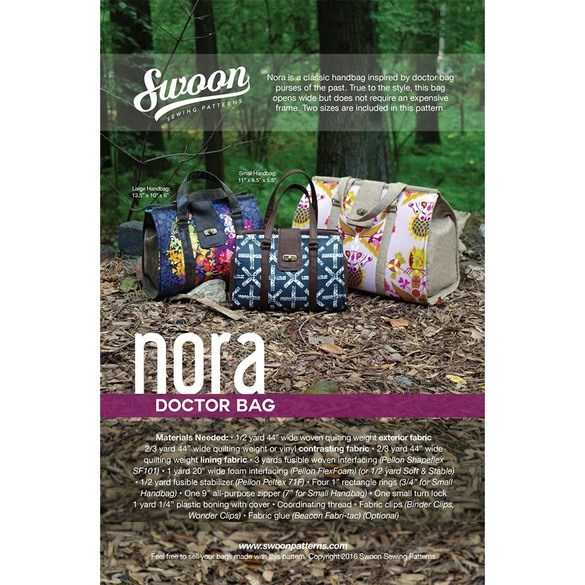 Swoon, Nora Doctor Bag Pattern