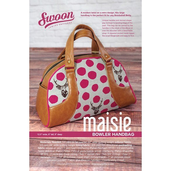 Swoon, Maisie Bowler Handbag Pattern