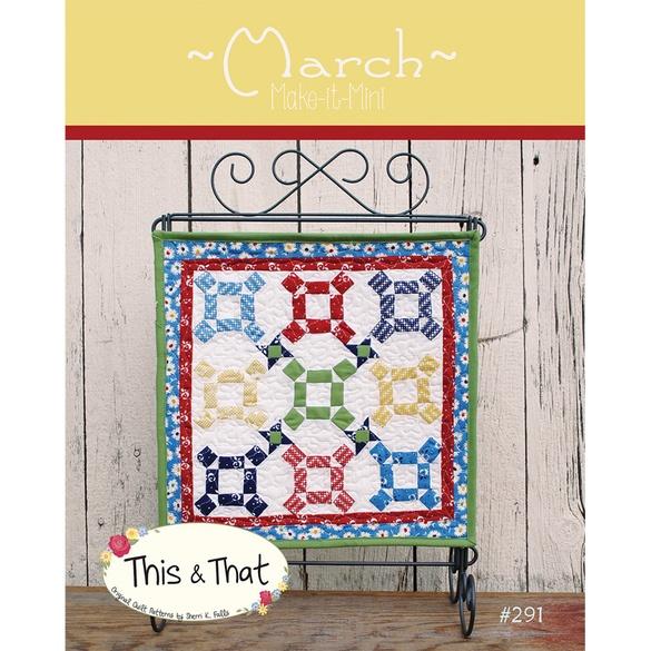 """Make it Mini Quilt Pattern (13"""" x 13"""")"""