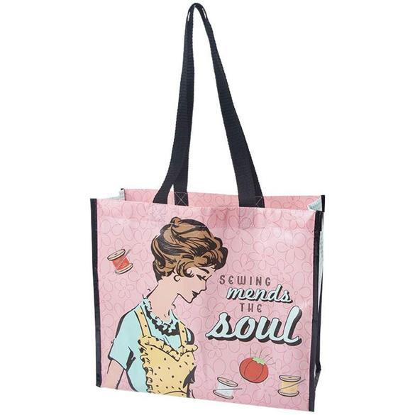 Lori Holt, Sewing Mends the Soul Tote Bag