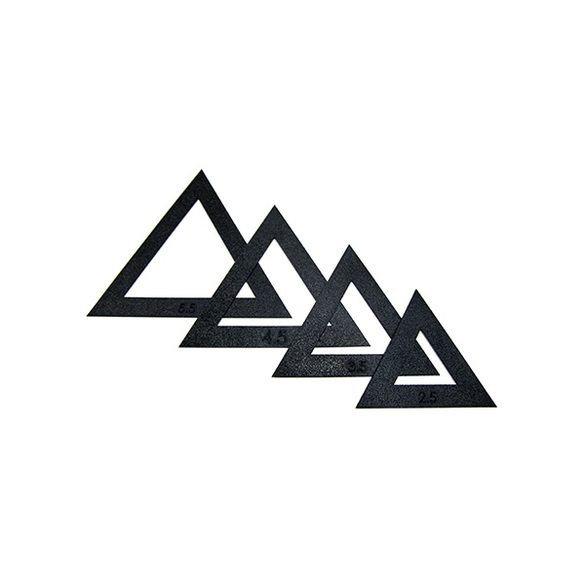 Martelli Triangle Fussy Cut Window Sets