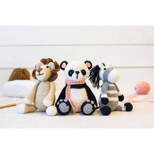 Threaders, Cute Companions Crochet Kit Pattern