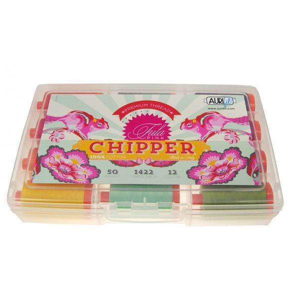 Tula Pink's Chipper Thread Collection (12 Large Spools)